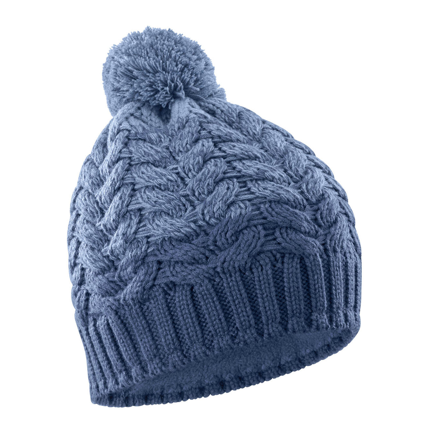 Шапка горнолыжная SALOMON Poly Beanie Copen Blue/Dark Denim