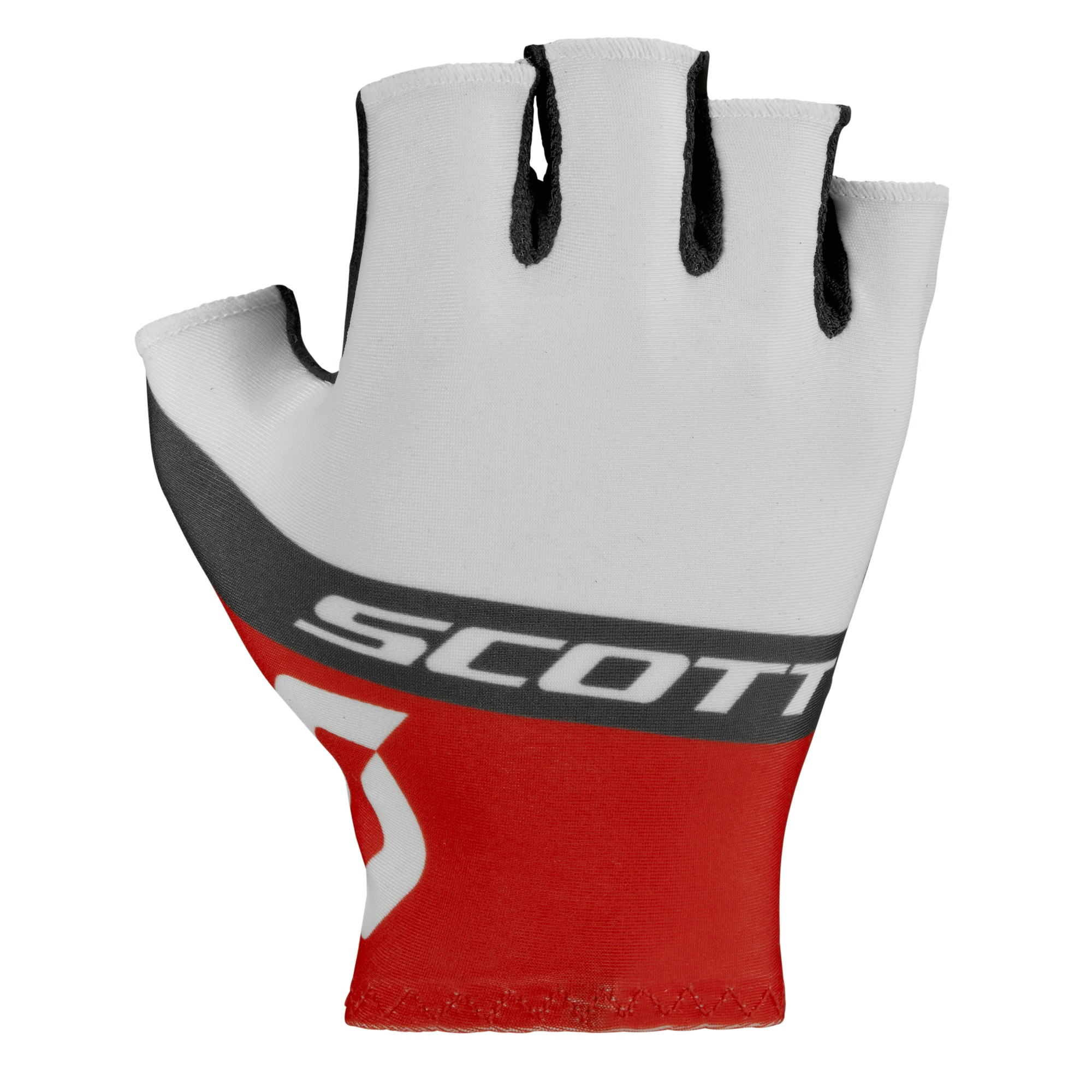 Перчатки SCOTT RC Team Short Finger white/red (2016)