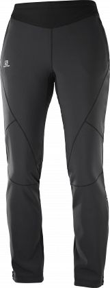 Штаны для беговых лыж SALOMON Lightning Warm SShell Pant W Black
